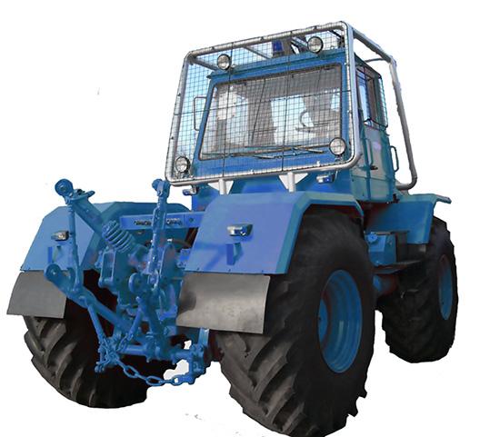 Трактор 150К с развернутой кабиной