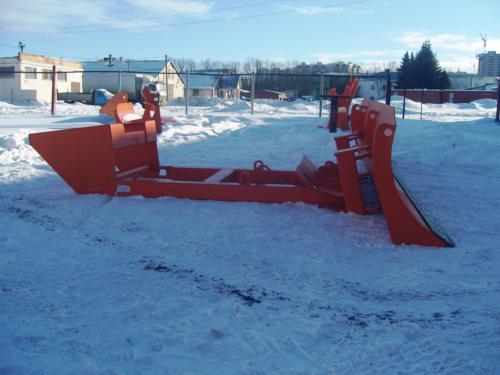 НБО-04 отвал для тракторов Кировец К744Р2