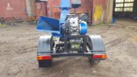 Серия 52; ПРМ160 Прицепная Рубительная Машина (к трактору) с приводом от ДВС бензин 24/27л.с.