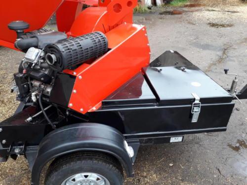 С52; ПРМ200/Ø200 Прицепная Рубительная Машина