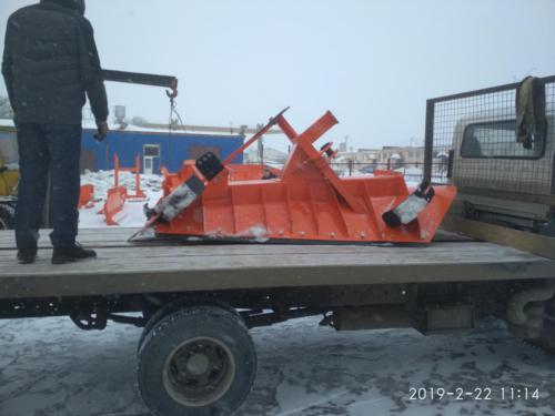 НБО-02Р отвал V-образный Разборный