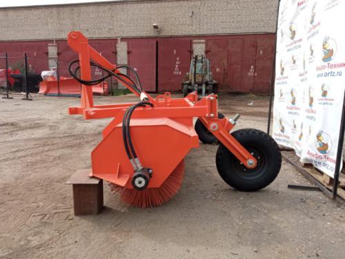 Щётка коммунальная для тракторов