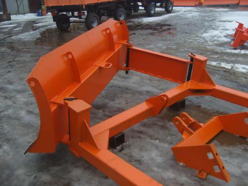 НБО-03 бульдозерный поворотный отвал для гусеничных тракторов ХТЗ, ДТ-75