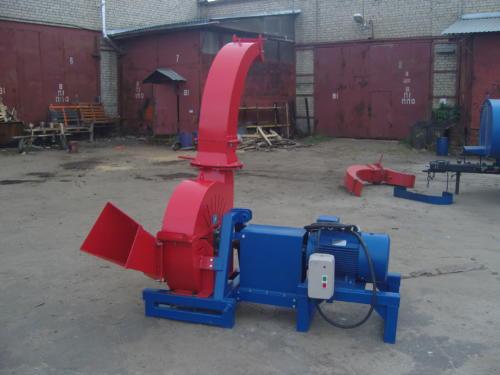 Серия 52;  ИВН-0/Ø255 Измельчитель с приводом от Электродвигателя (двигатель 30 кВт)