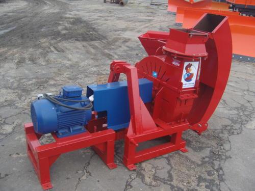 Серия 52; ИВН-0/Ø160/Ø200 Измельчитель с приводом от Электродвигателя (двигатель 15/30 кВт)